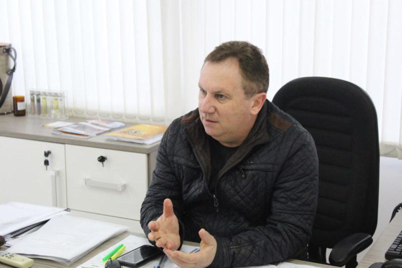 Oriberto Adami, gerente regional da Emater Passo Fundo (Foto: Pedro Borghetti).