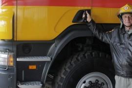 O bombeiro mais experiente do Rio Grande do Sul
