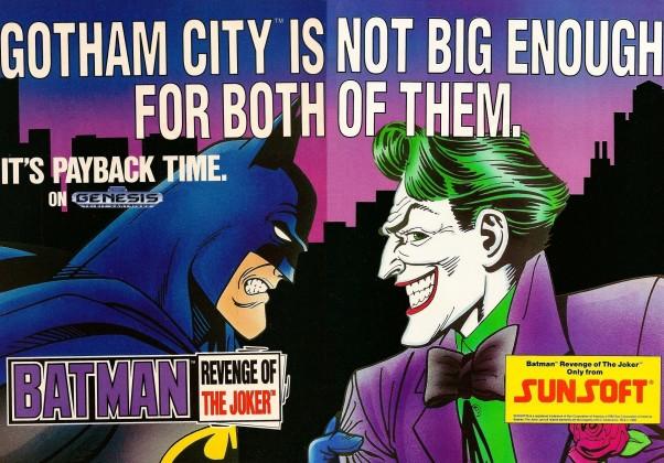 Batman: Revenge of the Joker: O game lançou em 1991 para o NES, e contava com a participação de Coringa como o principal vilão da trama.