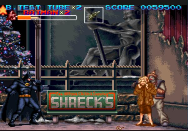 Batman Returns: Iniciou a onda de jogos que eram baseados em filmes ou séries animadas. Teve seu lançamento no mesmo ano do longa-metragem, em 1992.