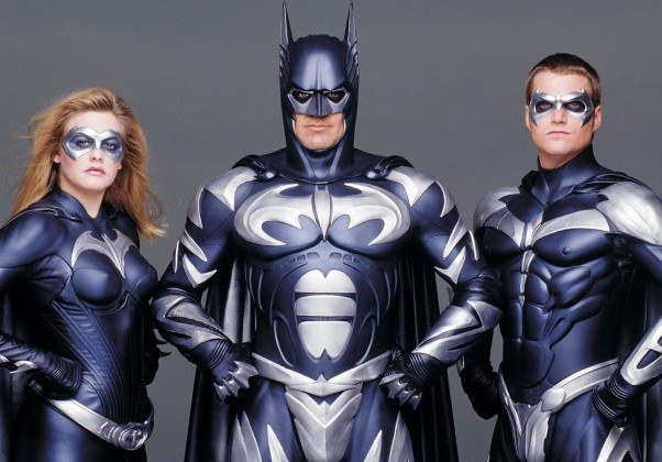 Batman & Robin: O filme menos lucrativo do homem morcego. Contava com Arnold Schwarzenegger no papel de Mr. Freeze.