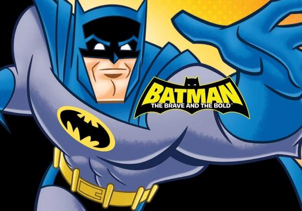 Os bravos e destemidos: tem uma premissa um tanto diferente: mostrar o Batman trabalhando em equipe com outros heróis da DC.