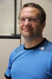 Professor do curso de Ciência da Computação, Carlos Adriani Lara Schaeffer.