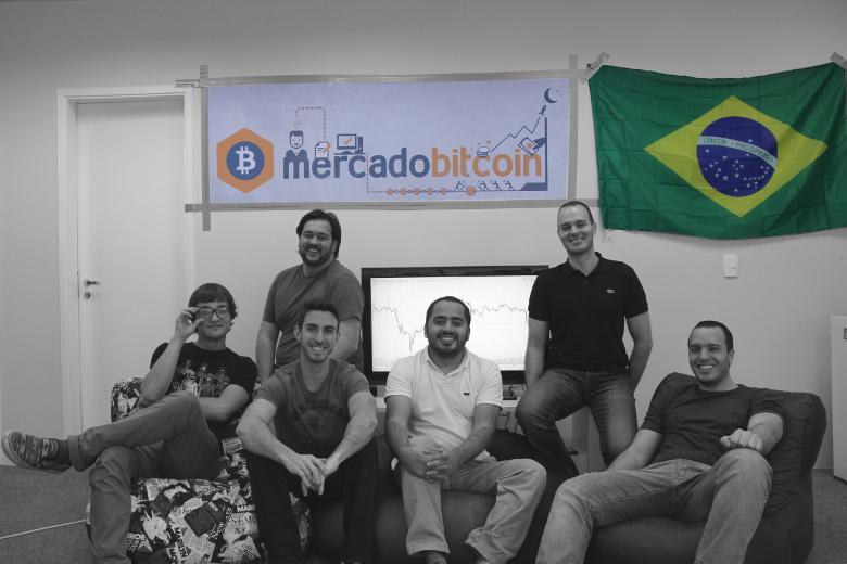 Equipe da empresa brasileira Mercado Bitcoin. Foto: Divulgação