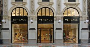 Boutique Versace em Paris