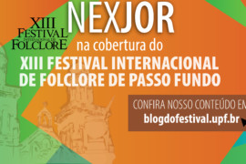 Nexjor no Festival de Folclore