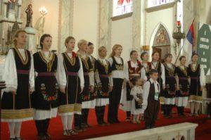 Um dos eventos paralelos ao festival era uma missa realizada na Catedral de Nova Prata. Foto: divulgação