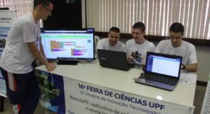 Produção de pesquisa na UPF